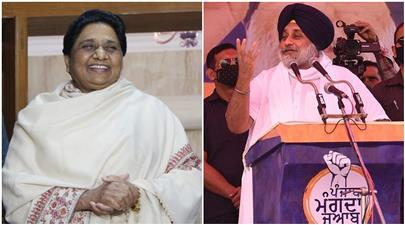 2022 Punjab Assembly elections: SAD announces alliance with BSP