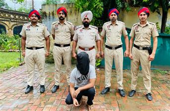 Kapurthala Police arrest another accused in 20kg heroin seize case